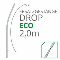 Ersatzgestänge Set Drop Eco 2,00 m
