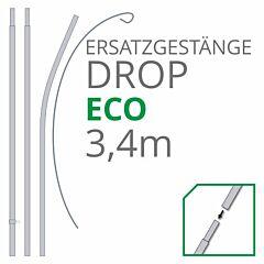 Ersatzgestänge Set Drop Eco 3,40 m