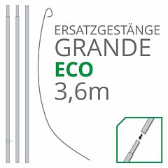 Ersatzgestänge Set GRANDE Eco 3,60 m
